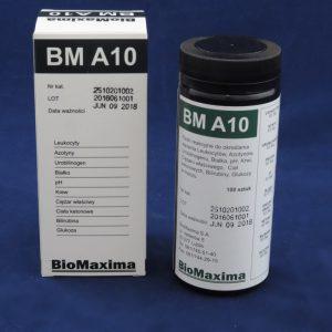 Paski do badania moczu BM A10