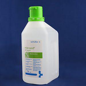 Mikrozid AF liquid- preparat do szybkiej dezynfekcji sprzętów i wyposażenia medycznego